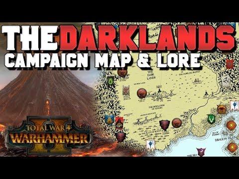 The Darklands: Campaign Map & Lore (Speculation) | Total War: Warhammer 3