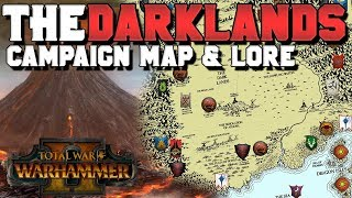 The Darklands: Campaign Map & Lore (Speculation) | Total War: Warhammer 3