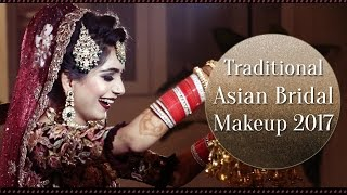 Traditional Asian Bridal Makeup | Real Bride Makeup Tutorial | Krushhh by Konica