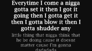Look At Me Now Busta Rhymes Verse Lyrics On Screen In Description
