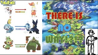 Video Search For Pokemon Galar Starters Evolutions