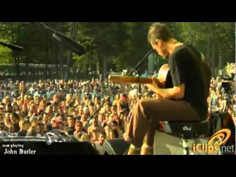"""John Butler   """"Ocean"""" Rothbury Music Festival  2009"""