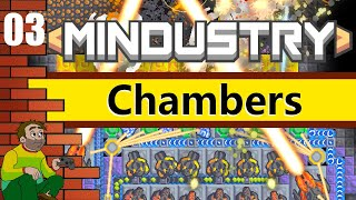 Mindustry - Chambers Workshop Map: PC Gameplay and Commentary #3