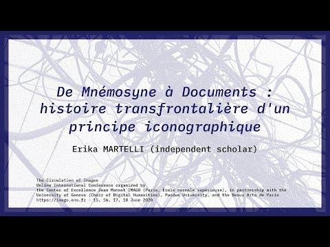 De Mnémosyne à Documents : Erika MArtelli (independent scholar)