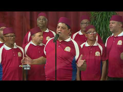 """Cape Malay Choir Performs """"The Cape Town Song'"""""""