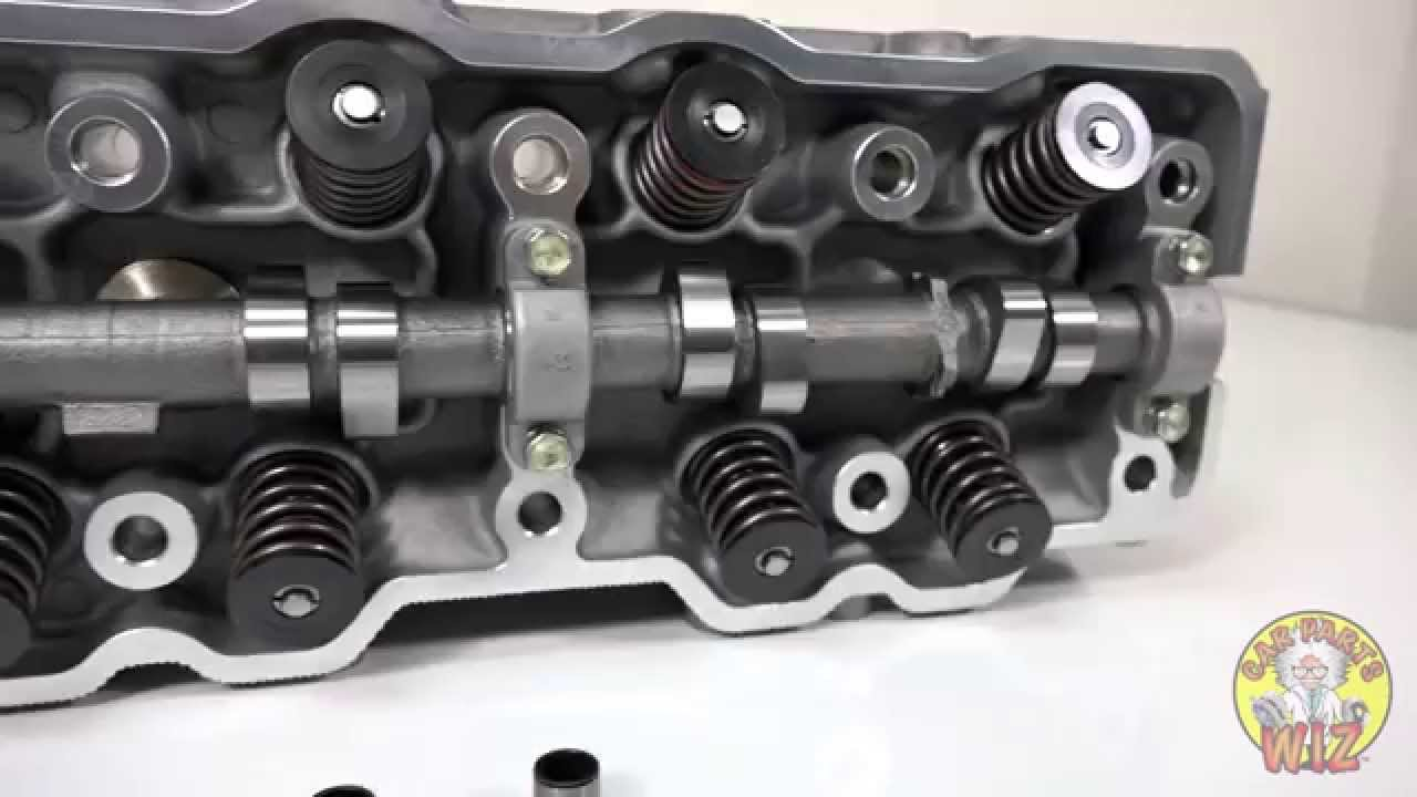 22r Cylinder Head Complete With Camshaft And Valves From Car Parts Wiz
