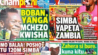 MICHEZO Magazetini Ijumaa 14/12/2018:Boban Atua Rasmi Yanga Kwa Dau la milioni 25
