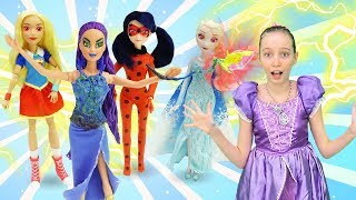Принцесса София - Куклы на вечеринке. Видео с куклами