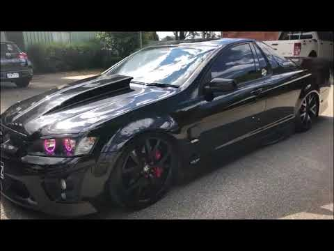 2007 Holden Commmodore VE Black UTE Maloo 6.2L V8 HSV 276kw 642NM Torque Air Suspension