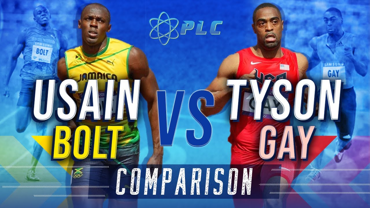 TYSON GAY VS BOLT