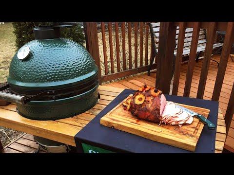 Easy Big Green Egg Recipes: Holiday Ham On The Big Green Egg