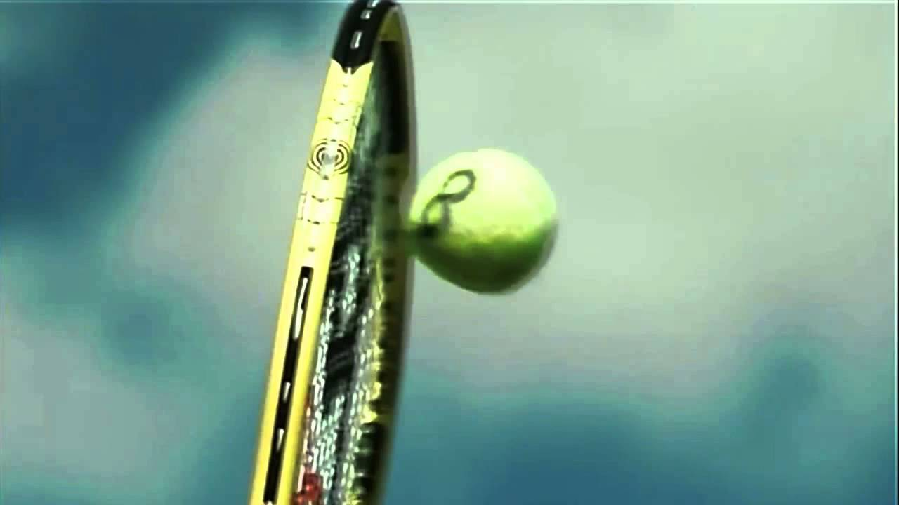 142mph serve racquet hits the ball 6000fps super slow motion from