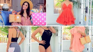 Summer Fashion TRY ON Haul|  Nike, PINK VS, Free People + MORE