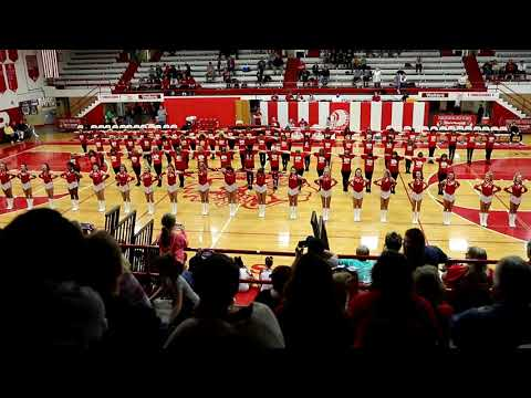 Parkersburg High School Red Wing Drill Team 50th Anniversary