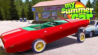MY SUMMER NEW TRICKED OUT LOW RIDER! - My Summer Car Gameplay Highlights Ep 103