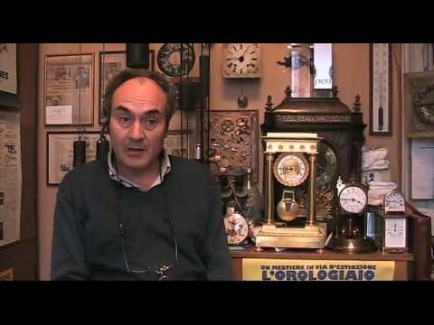 Rodolfo Saviola - Orologiaio in Milano: intervista video La Repubblica