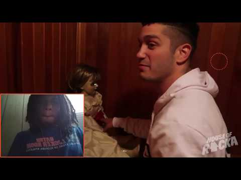 """CURSED ANNABELLE DOLL HAUNTING (RackaRacka)"" REACTION!!!!"