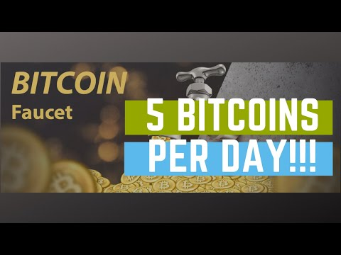 The First Bitcoin Faucet Gave Out 5 Bitcoins Per Day!!! Worth Over $25k!!!