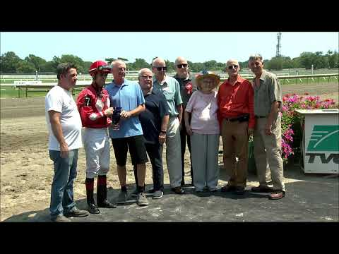 video thumbnail for MONMOUTH PARK 7-27-19 RACE 2