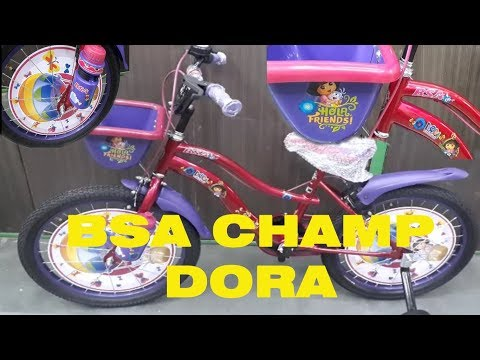BSA 20 Dora Cycle | Kids Cyle Unboxing