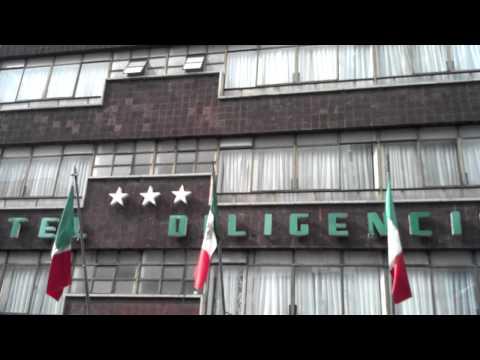 Psyclon Nine hotel in Mexico City.