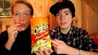 NORWEGIANS TRY SPICY AMERICAN SNACKS