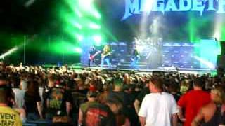 Megadeth - Head Crusher (Mayhem Festival 2011: Camden, NJ)