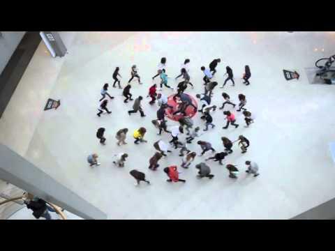 Видео, Поздравление с Днем Рождения Одесса - Лучший танцевальный флешмоб ФМ 2013