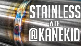 TIG Welding Stainless Steel with kanekid