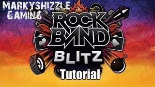 Rock Band Blitz Tutorial - How To Play and Succeed in Rock Band Blitz!