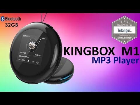 Kingbox M1 - Timoom - MP3 Player - 32GB - Bluetooth - Unboxing