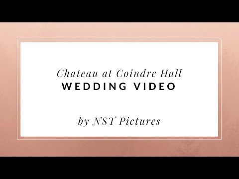 Chateau At Coindre Hall Wedding Video - Huntington NY Wedding Videographer - NST Pictures