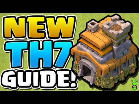 TOWN HALL 7 IS A WHOLE NEW WORLD! - New TH7 Guide - How To Clash Ep.19 -