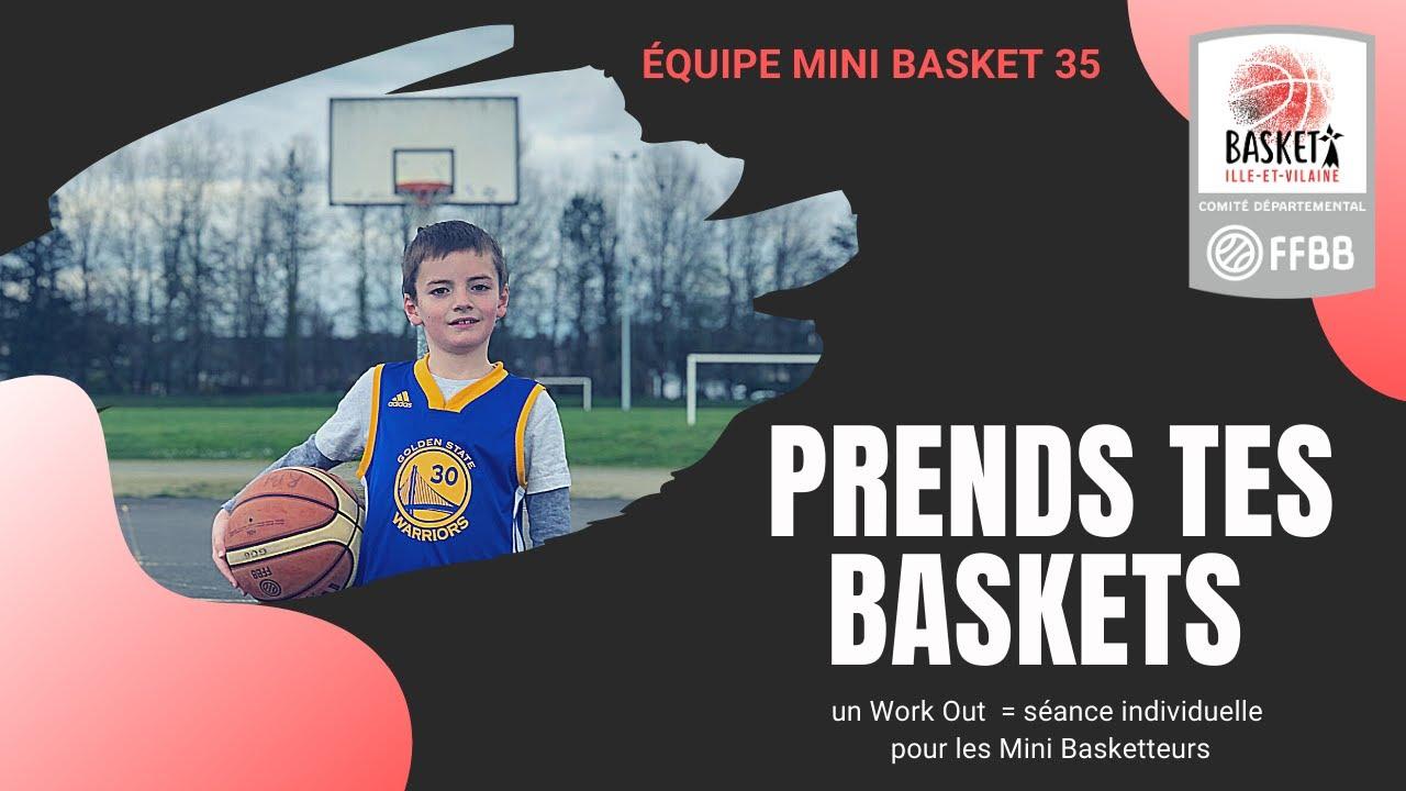"""""""Prends tes Baskets"""" : un workout pour les U9 - U11"""