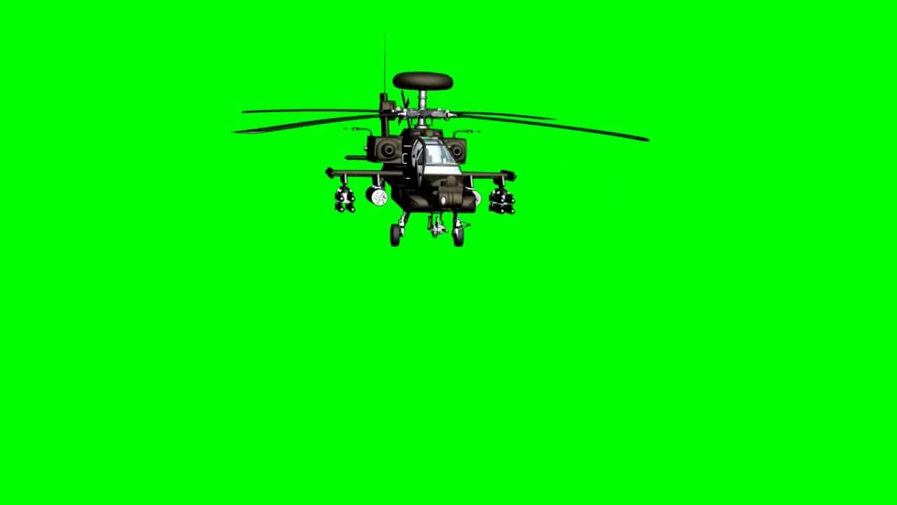 Pantalla Verde Helicoptero