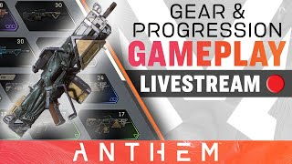 Gear and Progression Gameplay – Anthem Developer Livestream from December 13