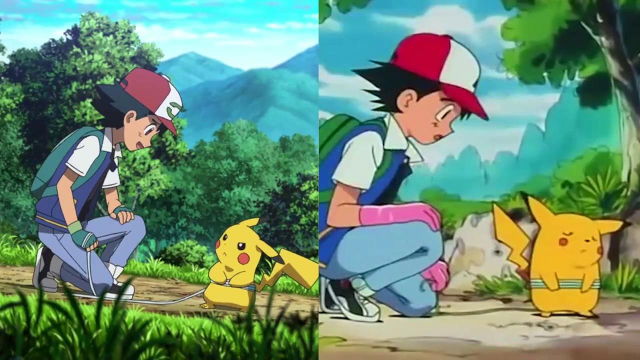 Pokemon The Movie I Choose You New Movie Scene Vs Old