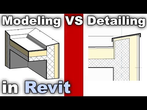 When to Detail and When to Model in Place - Revit Tutorial