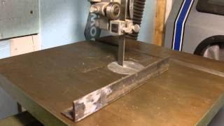 Wood Band Saw Conversion To Metal Cutting  Dc Drive