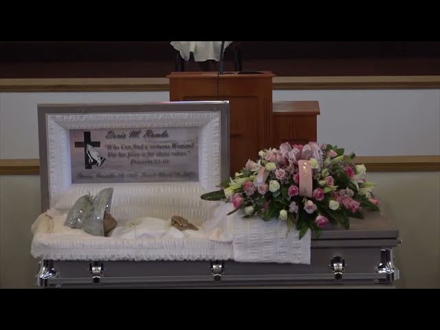 Funeral Services for Doris Rambo 1