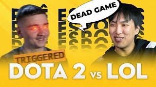 DOTA 2 vs. LEAGUE OF LEGENDS | Phê Esports #14