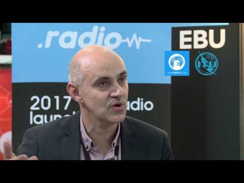 Que signifie pour vous la radio?: Alain Artero, .radio, EBU - UER