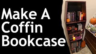 Make Coffin Bookcase - DIY