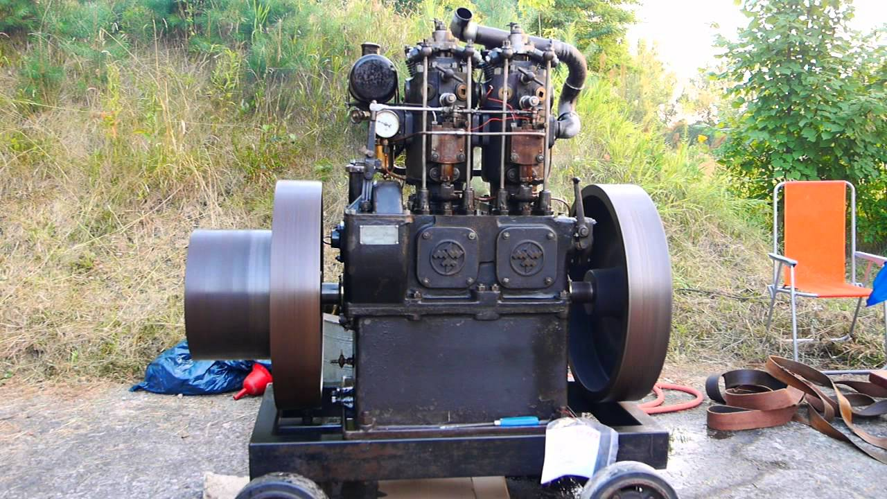 mwm station rmotor dieselmotor 2 zylinder werneuchen 2013. Black Bedroom Furniture Sets. Home Design Ideas