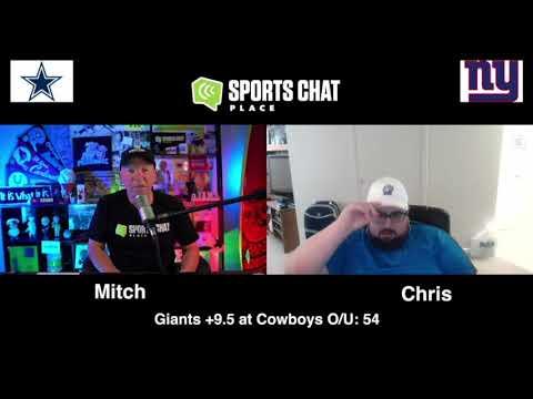 New York Giants at Dallas Cowboys Sunday 10/11/20 NFL Picks & Predictions Week 5 (skip to 23s)