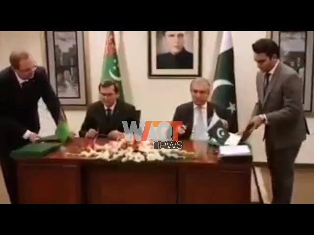پاکستان اور ترکمانستان کے مابین مختلف مفاہمتی یادداشتوں پر دستخط