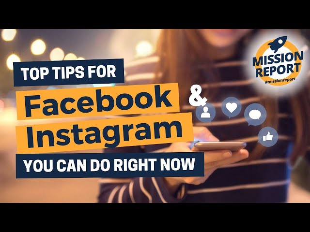 #missionreport - What you need to do NOW on Facebook and Instagram as an agent!