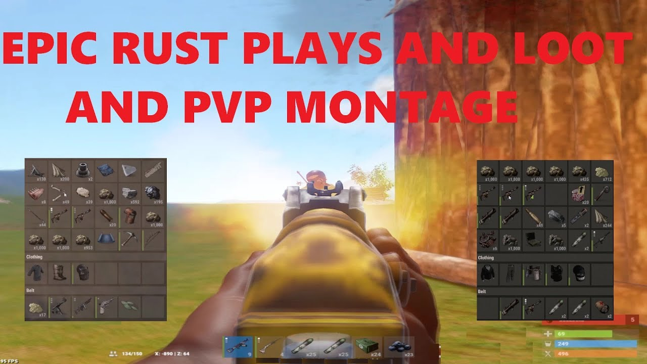 How To Make A Terrible Rust PVP Video