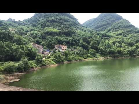 农村四炮探索广西大山,发现一个世外桃源村庄,简直是人间仙境