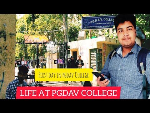 FIRST DAY IN P.G.D.A.V  COLLEGE #VLOG(DELHI UNIVERSITY)/VLOG